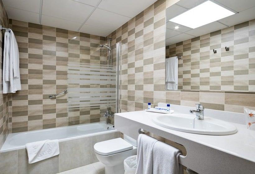 Bathroom Apartamentos Best Pueblo Indalo Mojacar