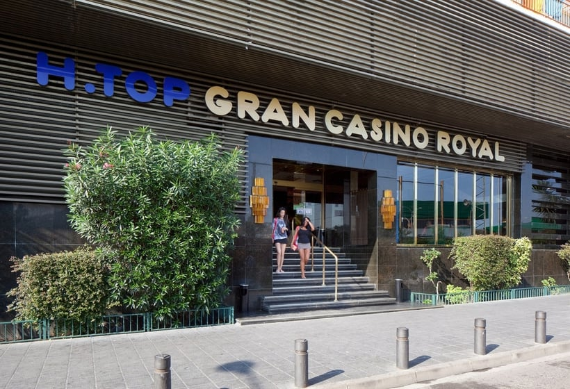 Outside Hotel H Top Gran Casino Royal Lloret de Mar