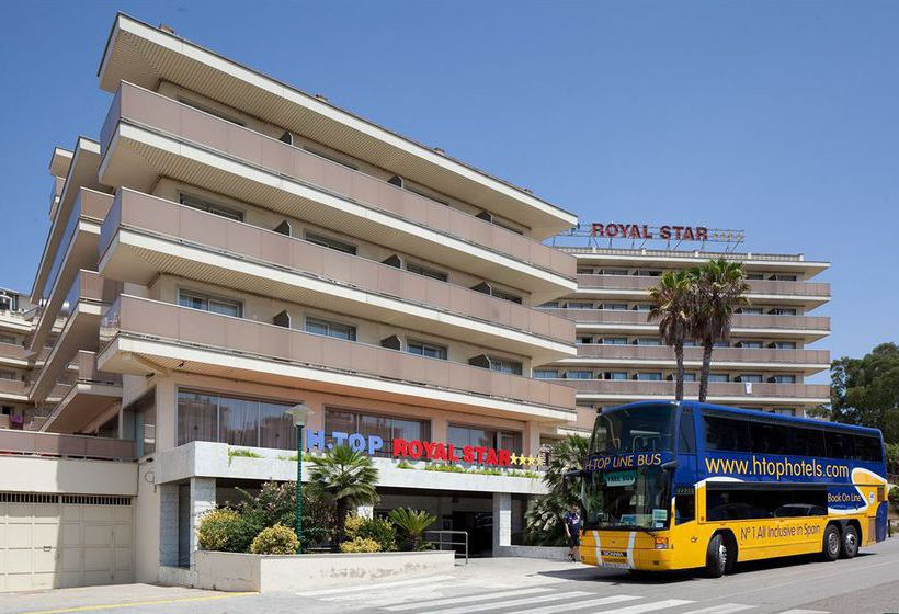 Aussenbereich Hotel H Top Royal Star Lloret de Mar