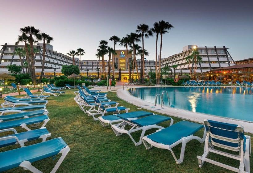 Zwembad Hotel Ilunion Islantilla