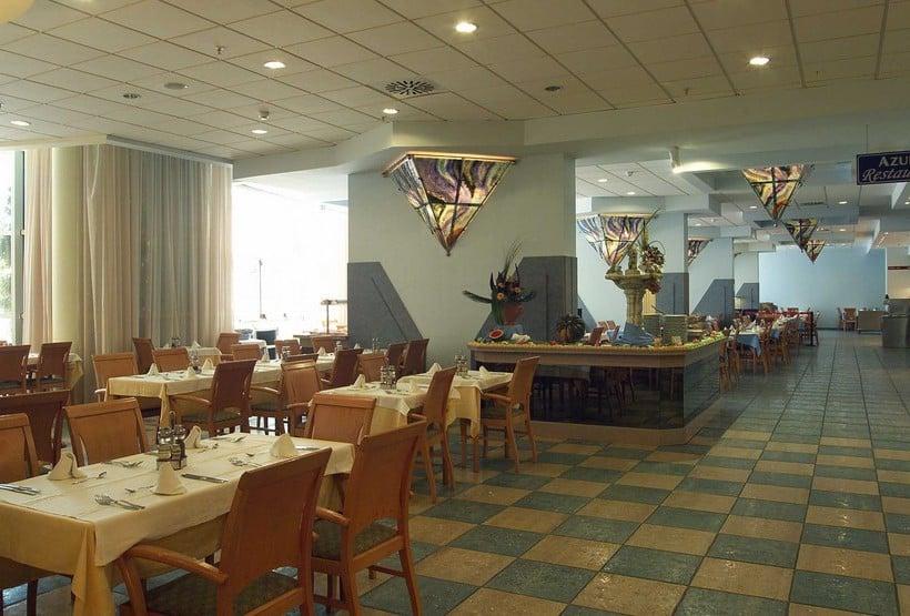 مطعم فندق MedPlaya Flamingo Oasis بينيدورم