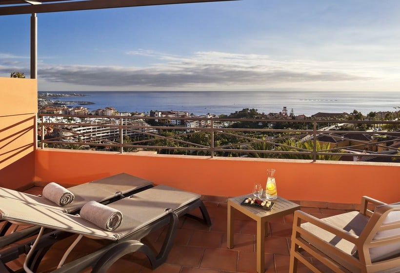 Terrasse Hotel Meliá Jardines del Teide Costa Adeje