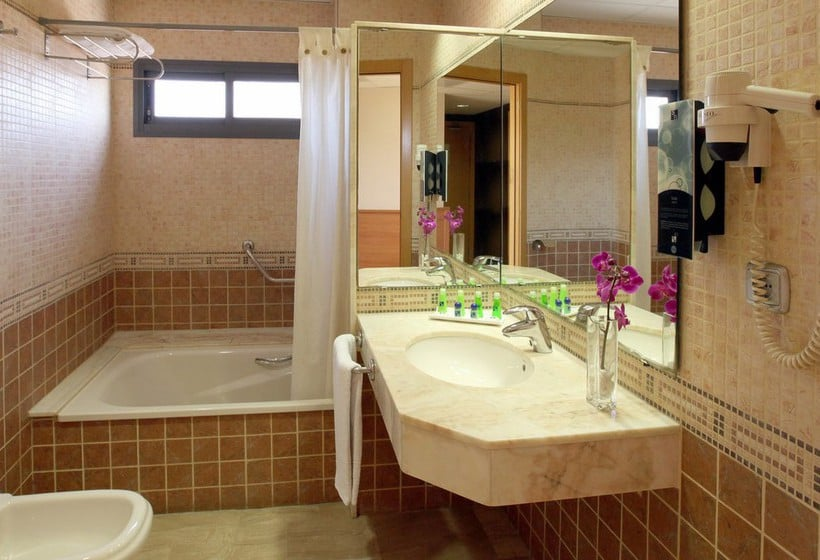 Cuarto de baño Hotel Sb Express Tarragona