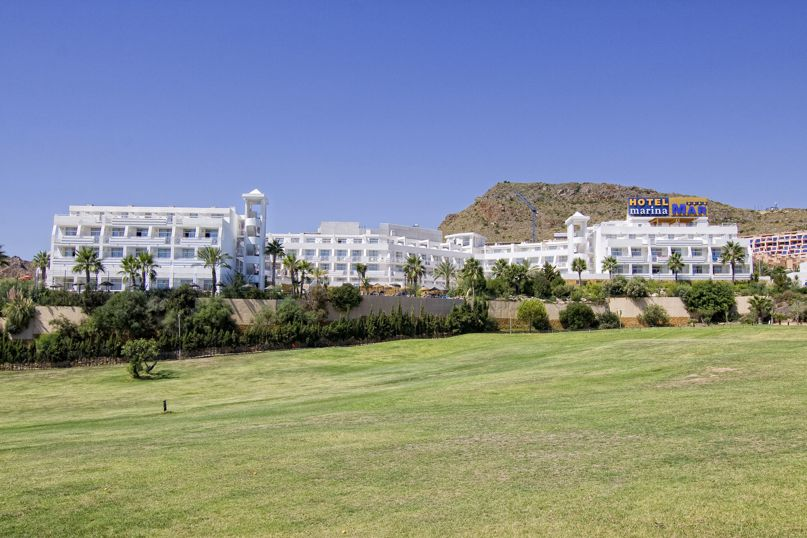 Outside Hotel Servigroup Marina Mar Mojacar
