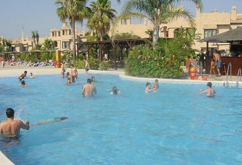 수영장 Hotel & Apartamentos Bahia Sur San Fernando