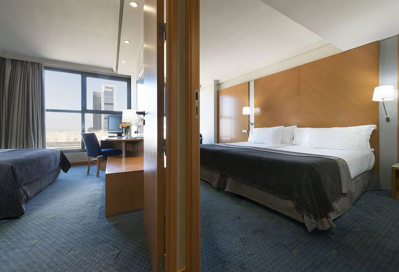 Quarto Hotel Exe Plaza Madrid