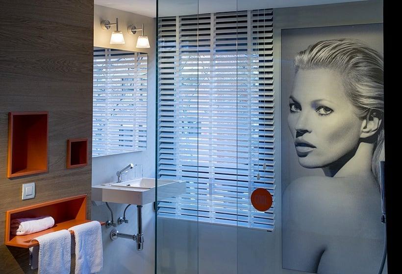 Salle de bain Hôtel Mirador de Chamartín Madrid