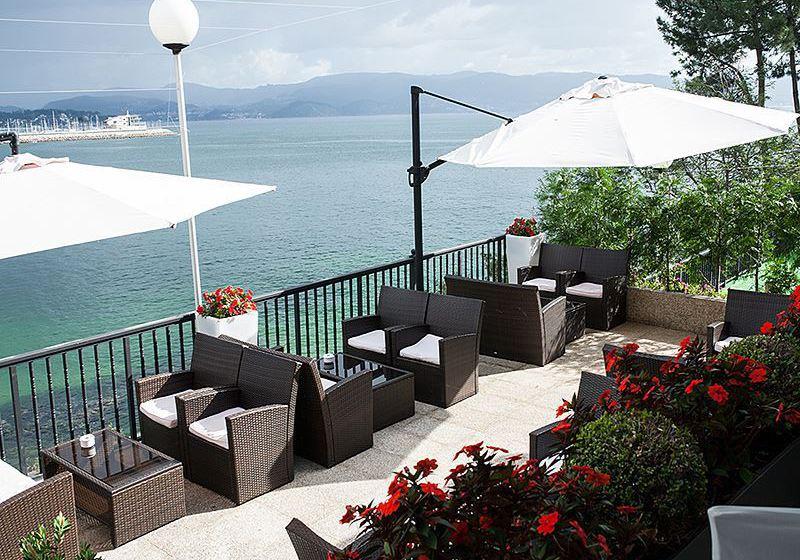 Terrace Gran Talaso Hotel Sanxenxo