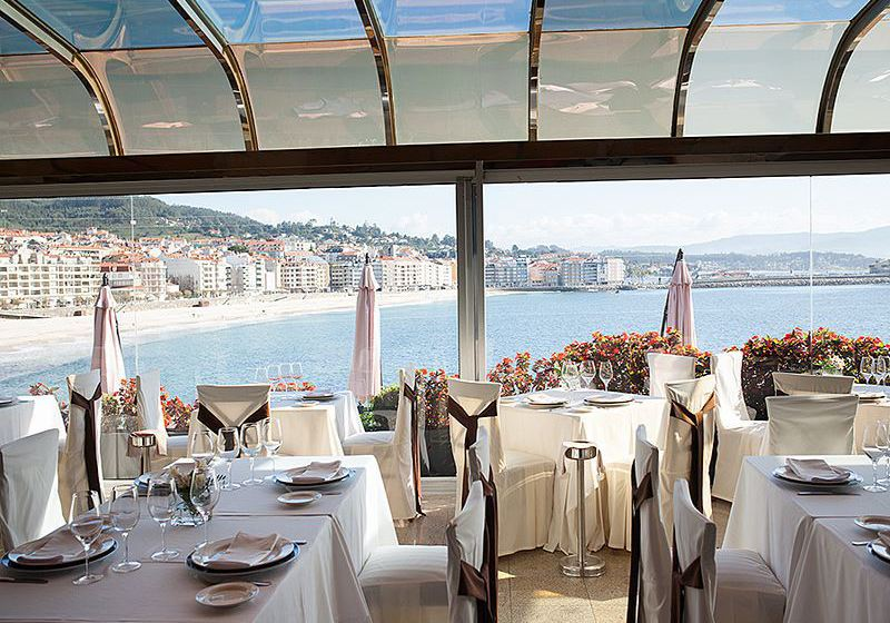レストラン Gran Talaso Hotel Sanxenxo サンシェンショ
