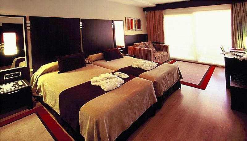 部屋 Gran Talaso Hotel Sanxenxo サンシェンショ