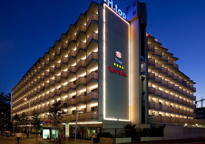 Exterior Hotel H Top Royal Beach Lloret de Mar