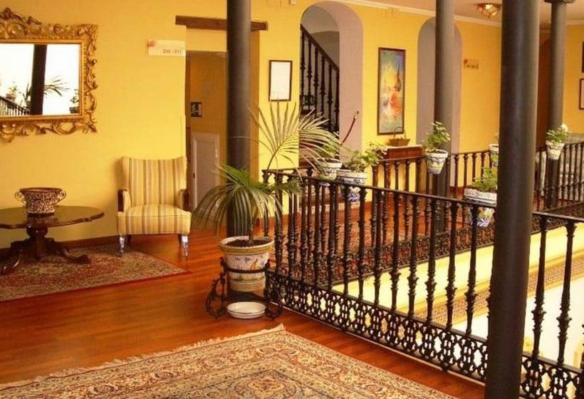Zonas comuns Hotel Abanico Sevilha