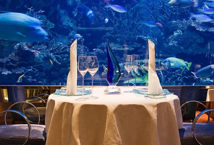 Restaurant Hotel Burj Al Arab Jumeirah Dubai