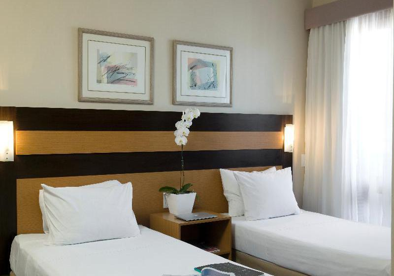 ホテル Piazza Navona Rede Intercity ポルト・アレグレ