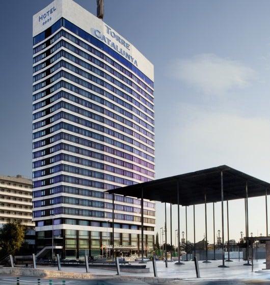 Buitenkant Gran Hotel Torre Catalunya Barcelona
