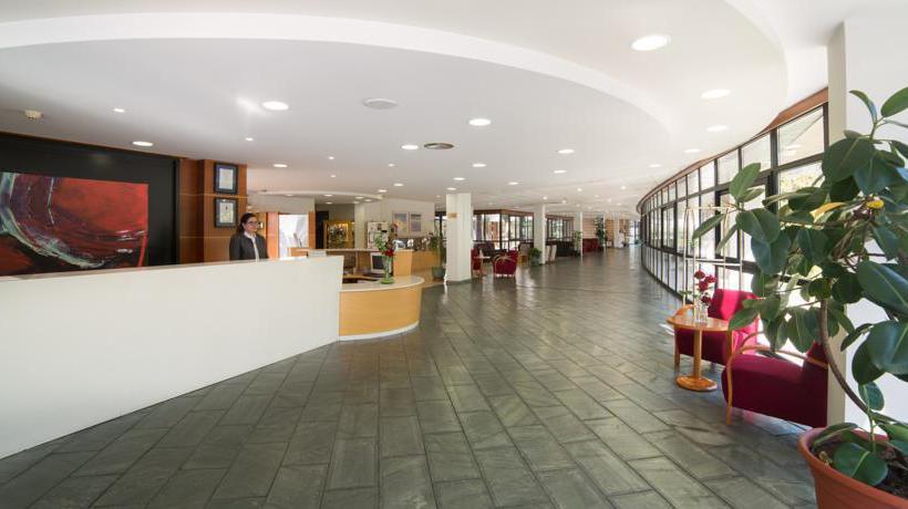 Front desk Laias Caldaria Hotel Balneario