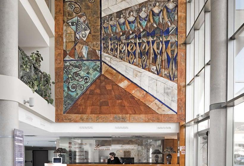 리셉션 Sun Palace Albir Hotel & Spa L'Alfas del Pi