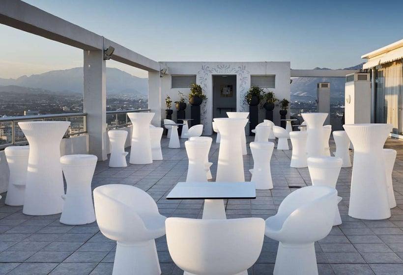 테라스 Sun Palace Albir Hotel & Spa L'Alfas del Pi