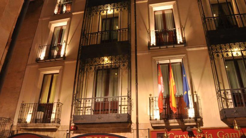 Aussenbereich Hotel Rua Salamanca