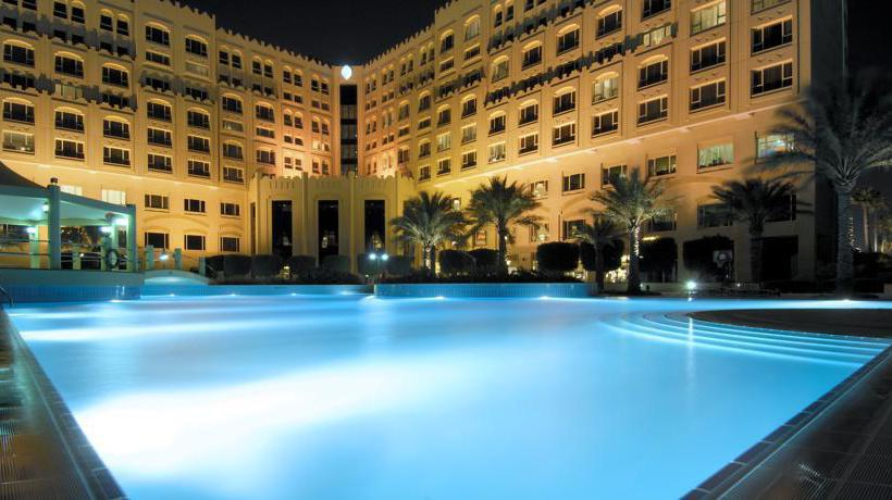Swimming pool Hotel Intercontinental Doha