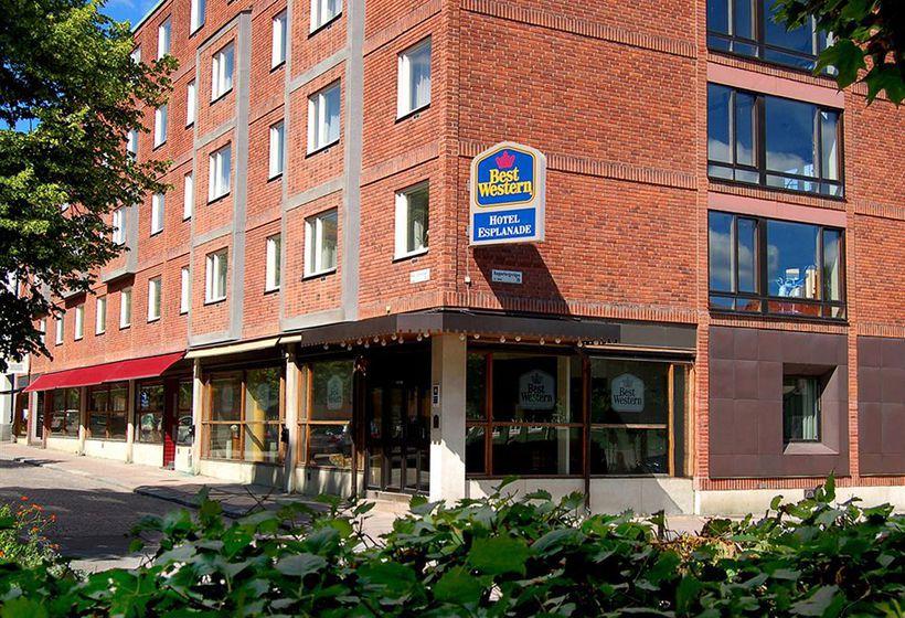 Best Western Hotel Esplanade Västeras