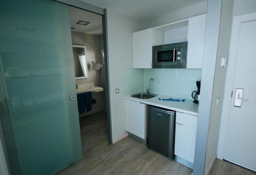 Room Aparthotel Servatur Puerto Azul Playa de Amadores