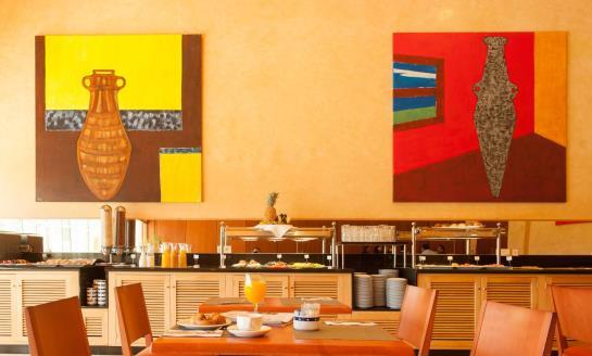 Café Hotel Eurostars San Lazaro Santiago de Compostela