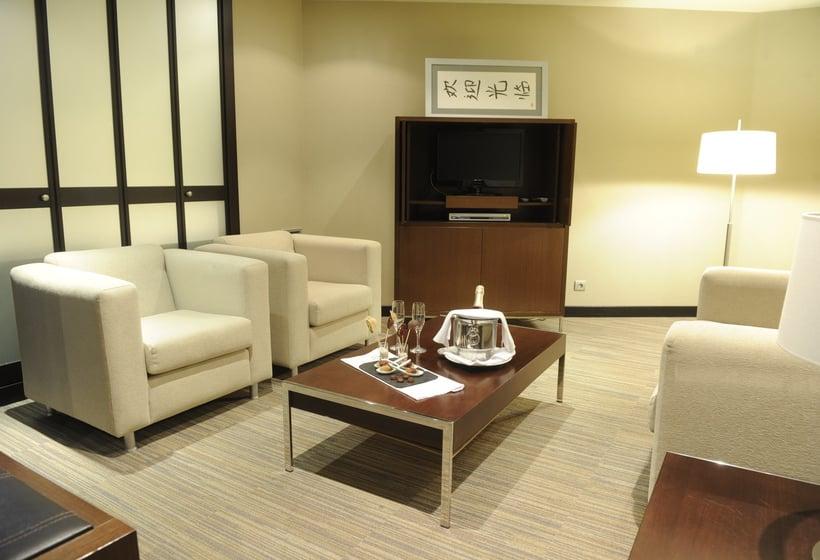 방 호텔 Attica 21 Coruña 라코루냐