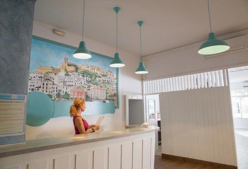 Front desk NWT Hostal Sunset Ibiza Sant Antoni de Portmany