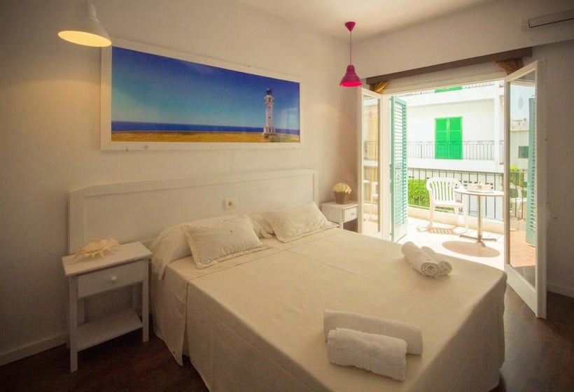 Zimmer NWT Hostal Sunset Ibiza Sant Antoni de Portmany