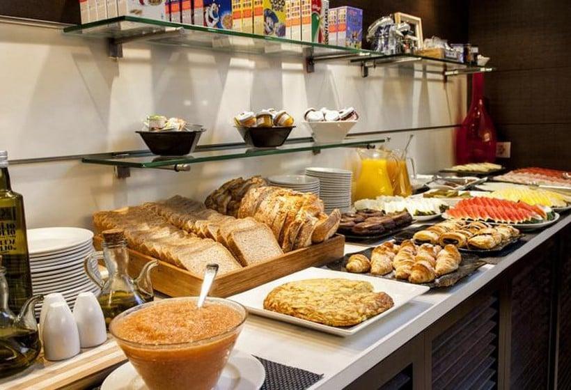 레스토랑 호텔 Zenit Bilbao 빌바오