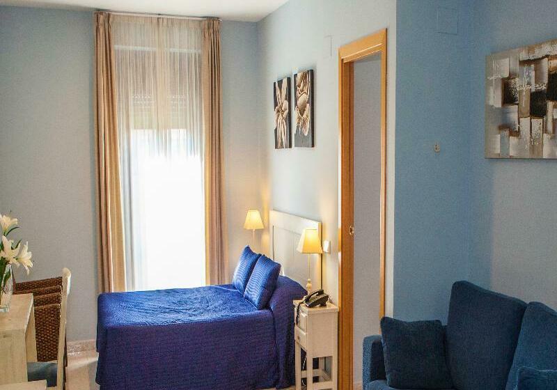 Zimmer Alexandra Aparthotel BenstarHotelGroup Tarragona