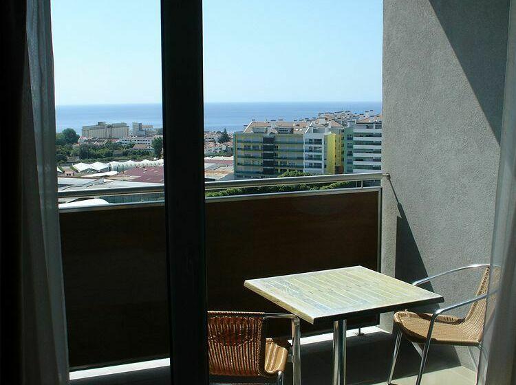 Terraza Hotel VIP Executive Azores Ponta Delgada
