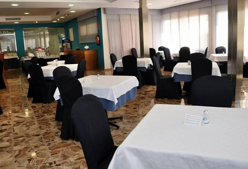 مطعم فندق Castilla Alicante بلايا دي سان خوان