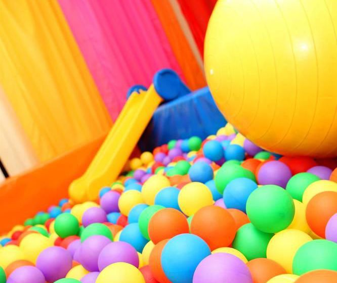Aires de jeux pour enfants AirBeach Islantilla