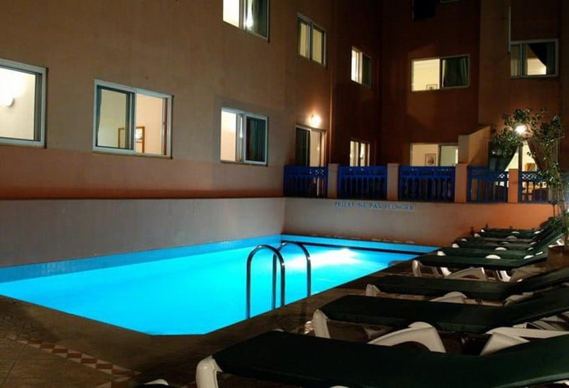 Swimming pool Hotel Mogador Express Bab Doukkala Marrakech