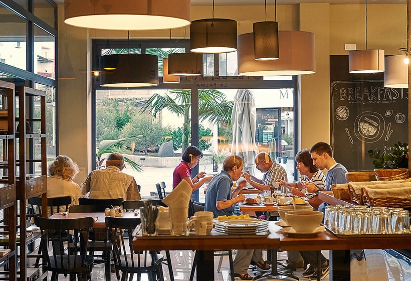 Cafétéria Hôtel Benahoare Los Llanos de Aridane