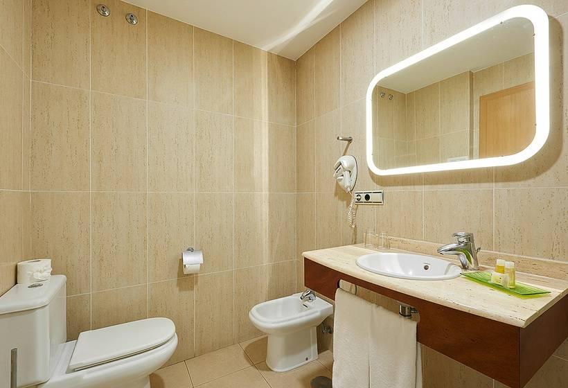 Salle de bain Hôtel Benahoare Los Llanos de Aridane