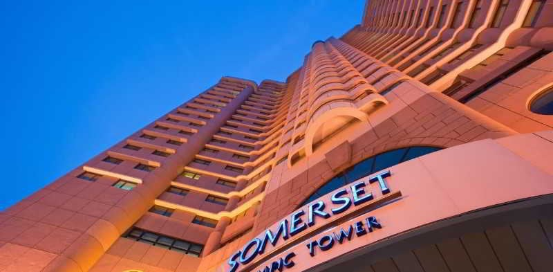 Hotel Somerset Olympic Tower Tianjin Tientsin