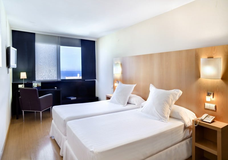 Habitación Hotel Barceló Cádiz