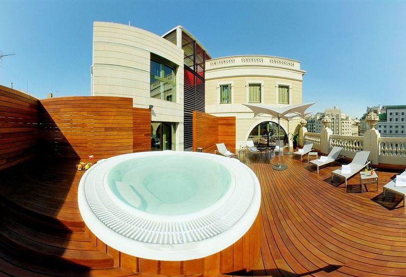 Aussenbereich Hotel Eurostars BCN Design Barcelona