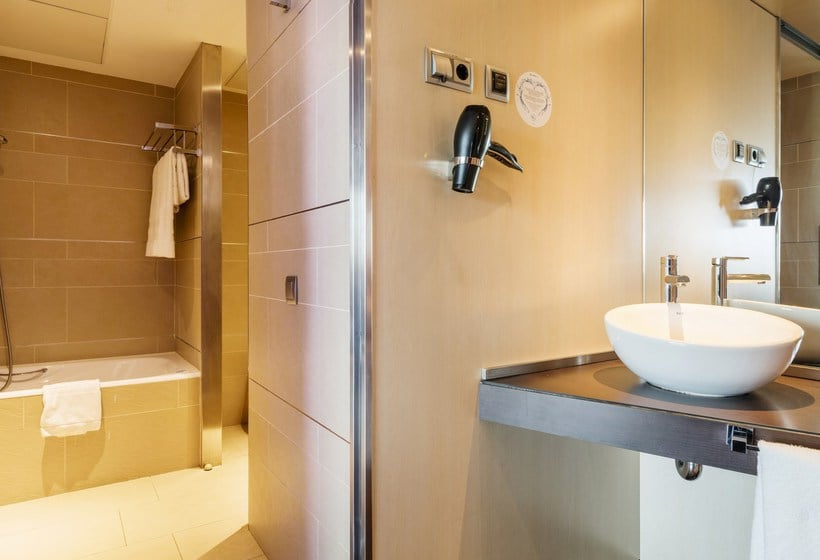 Badkamer Hotel Ilunion Barcelona