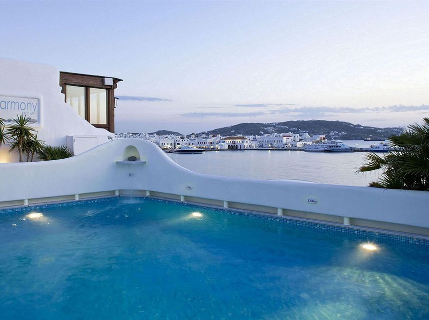 Swimming pool Harmony Boutique Hotel Mykonos