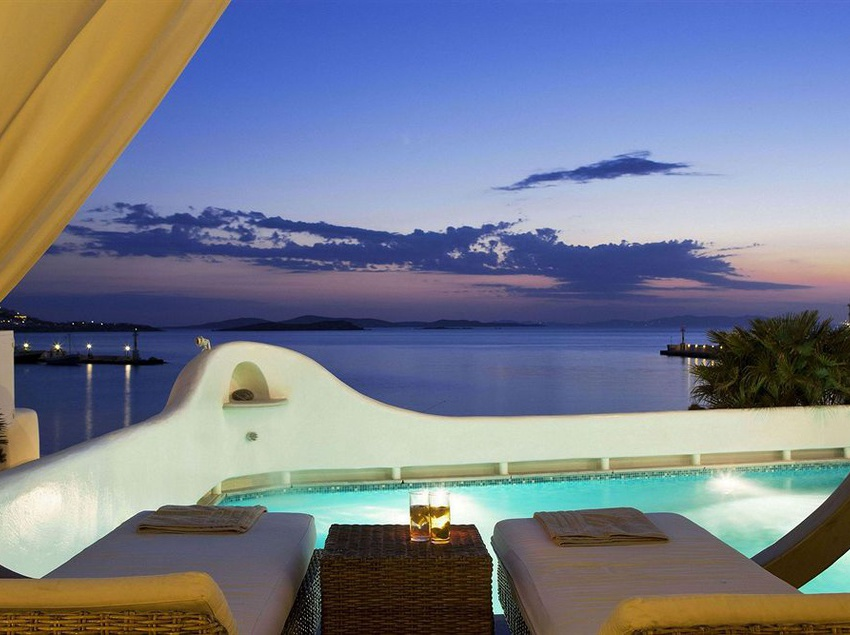 Piscina Harmony Boutique Hotel Mykonos