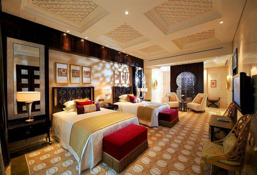 Quarto Hotel Raffles Dubai