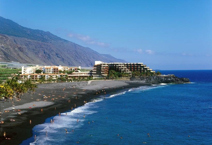 Aussenbereich Sol La Palma Apartamentos Puerto Naos