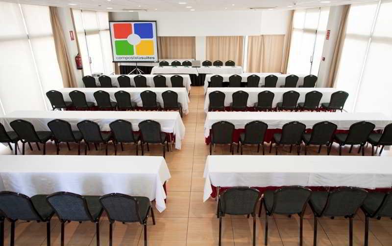 Salas de reuniones Aparthotel Compostela Suites Madrid