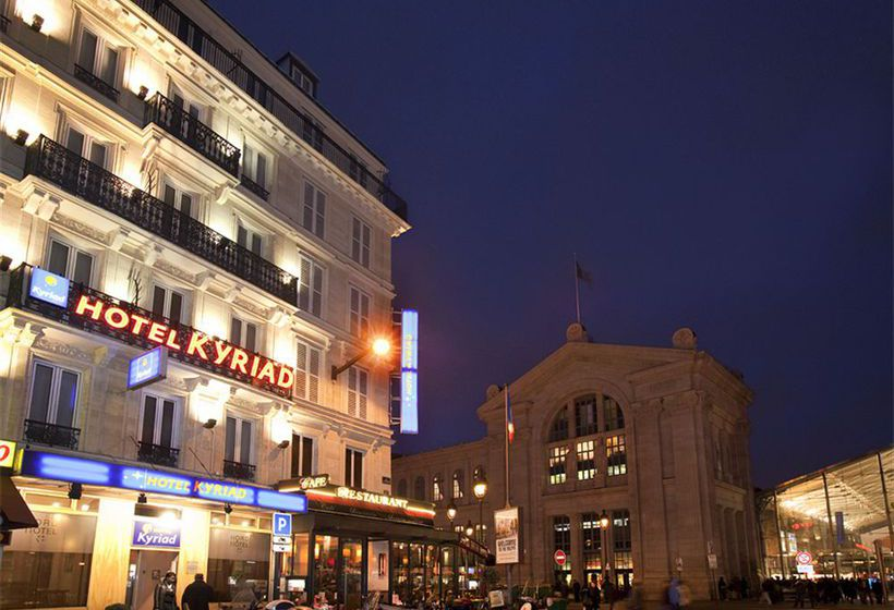 H tel kyriad paris 10 gare du nord paris partir de 14 for Hotel france numero