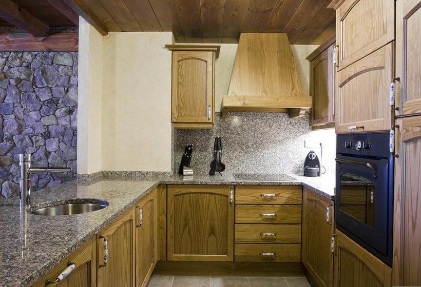Cocina Apartamentos Els Llacs Bordes d'Envalira