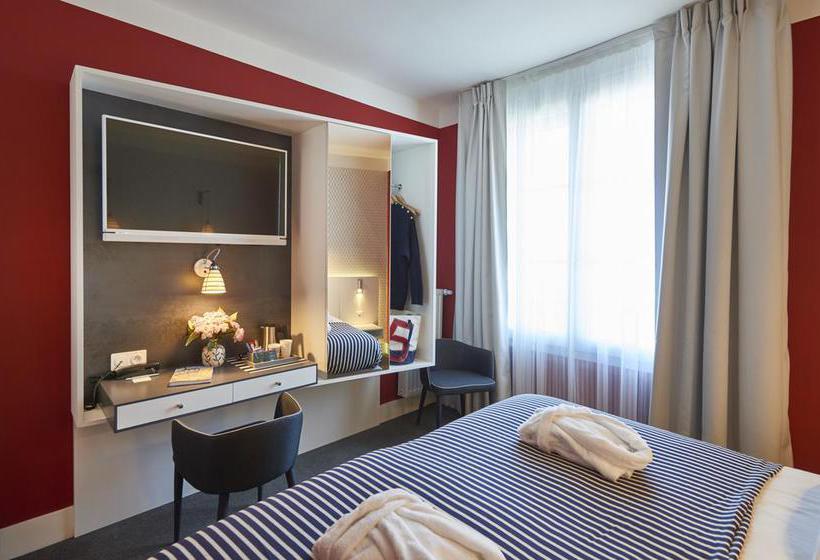 Quarto Hotel Mercure Brest Centre Les Voyageurs